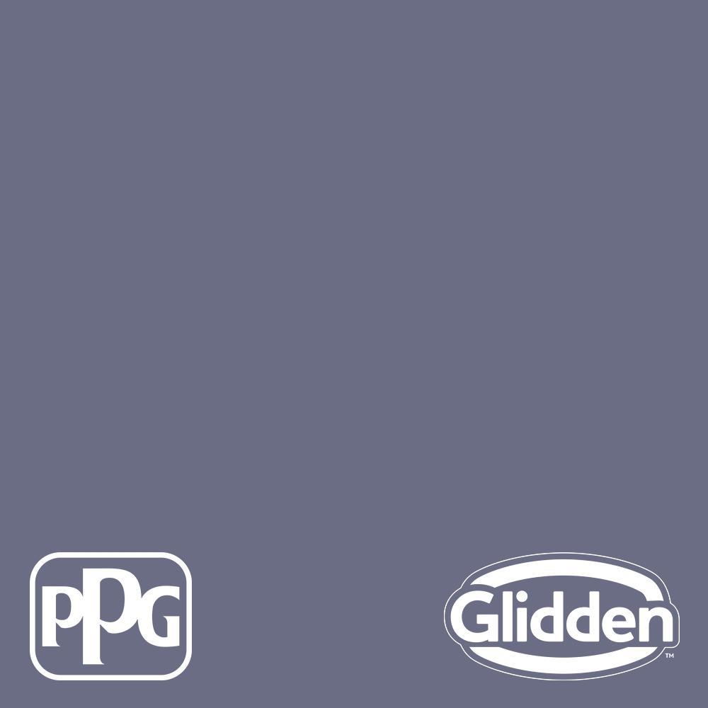 Glidden Premium 1 Gal Ppg1169 6 Great Grape Satin Interior Paint Ppg1169 6p 01sa The Home Depot