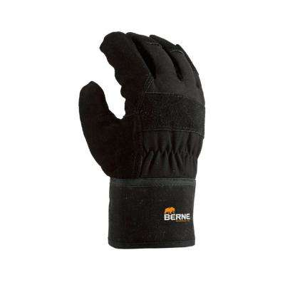 Medium Black Heavy Duty Quick Grip Gloves (2-Pack)