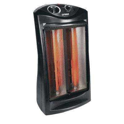 Fan Forced Tower Infrared Quartz Heater with Thermostat