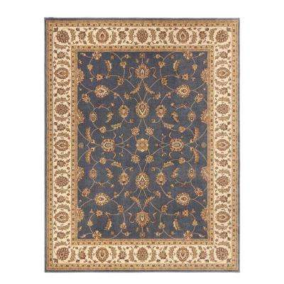 Claire Azure 8 ft. x 10 ft. Area Rug