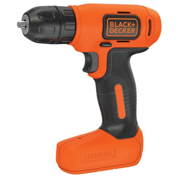 8-Volt MAX Lithium-Ion Cordless Rechargeable 3/8 in. Drill with Charger