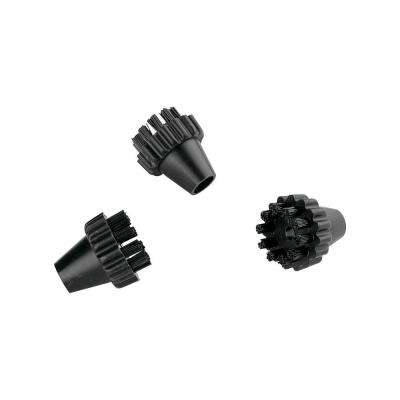 Black Round Nylon Brush Kit for Vaporetto (3-Pack)