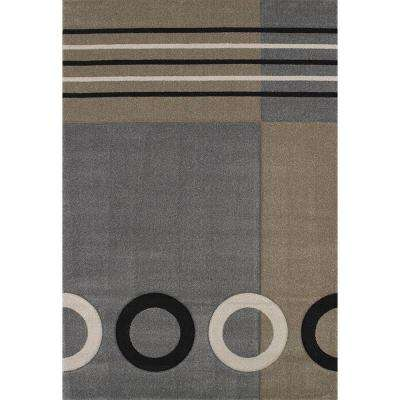 Tommy Grey 7 ft. 10 in. x 11 ft. 2 in. Area Rug