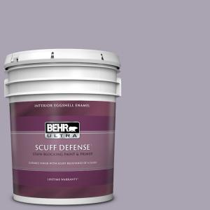 Behr Ultra 5 Gal N560 3 Luxe Lilac Extra Durable Eggshell Enamel Interior Paint And Primer In One 275405 The Home Depot