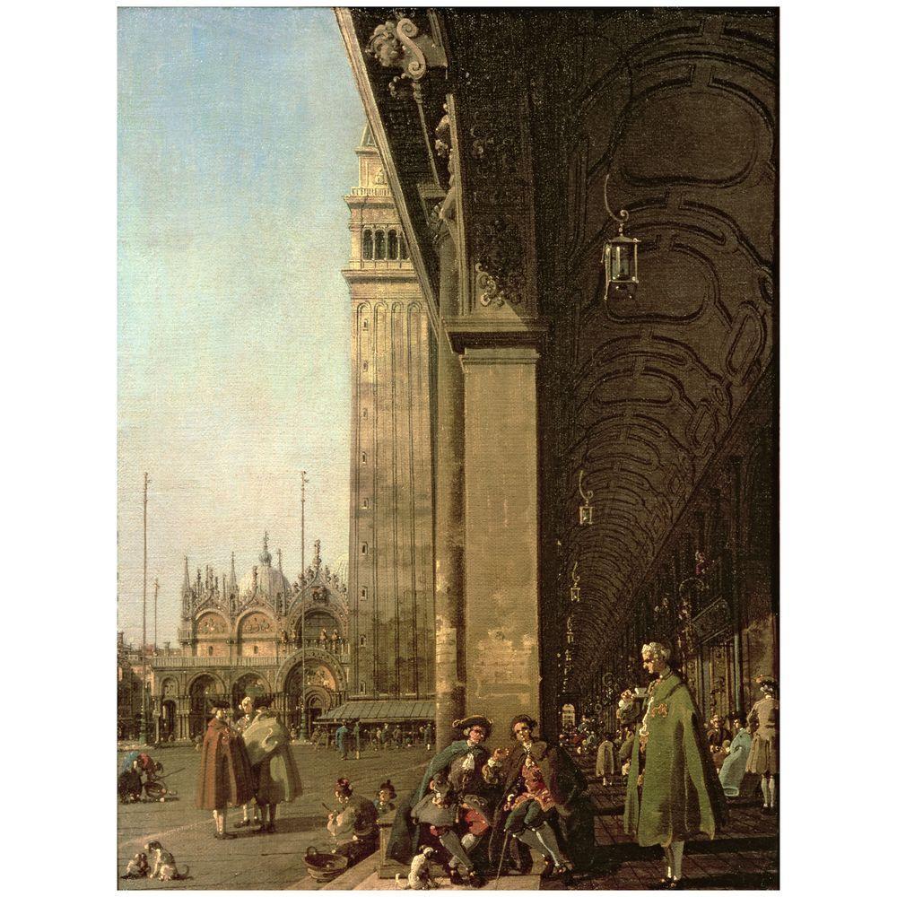 Trademark Fine Art 26 in. x 32 in. Piazza di San Marco, Venezzia Canvas Art