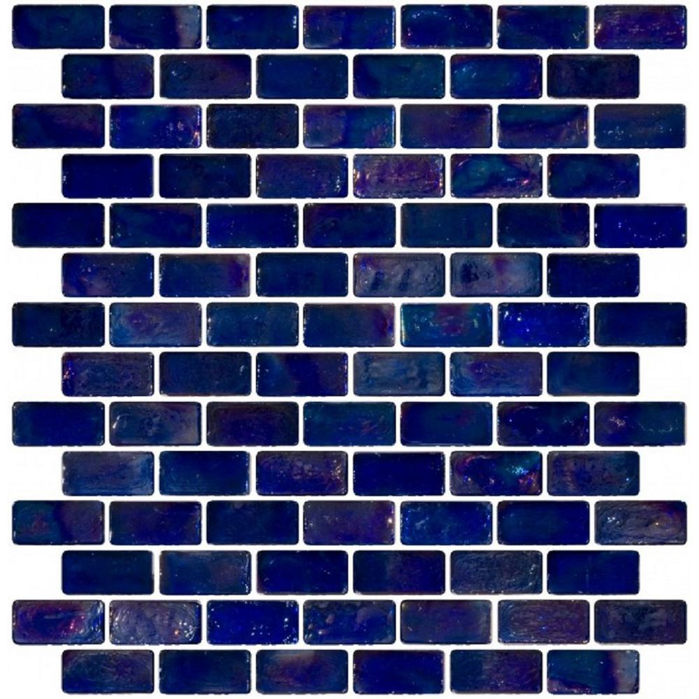 LTL Home Products 12 in. x 12 in. x 8 mm Tile Esque Blue ...
