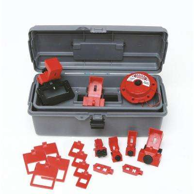 Breaker Lockout Toolbox Kit