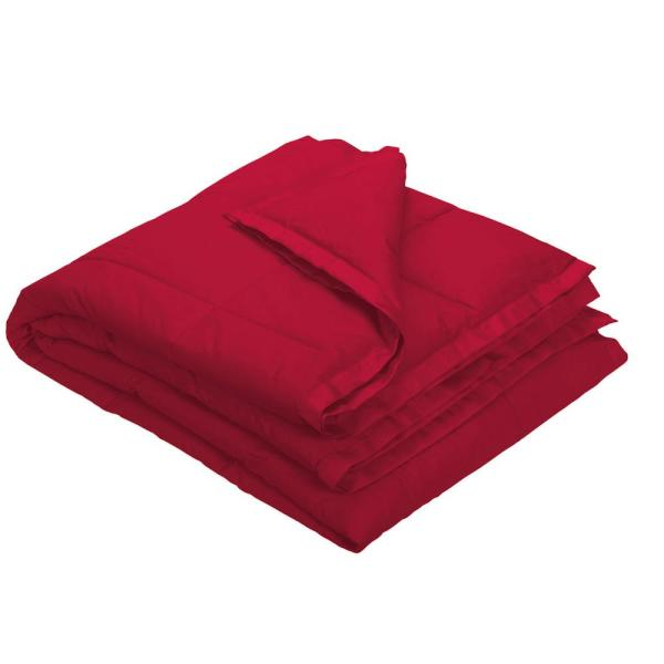 The Company Store LaCrosse LoftAIRE Classic Red Oversized Throw KO81-OS-CLSC-RED