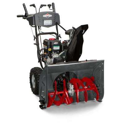 27 in. Dual-Stage Electric Start Gas Snowthrower