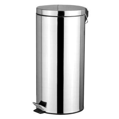 1.32 Gal. Stainless Steel Trash Can