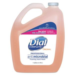 Dial Complete 1 Gal Antimicrobial Foaming Hand Soap Case
