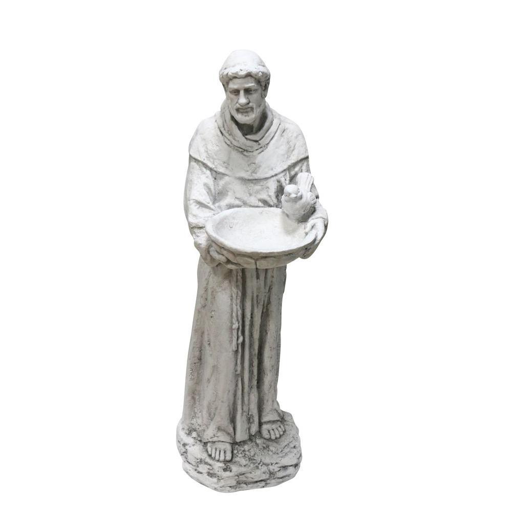 Alpine 44 inch St. Francis Statue by Alpine