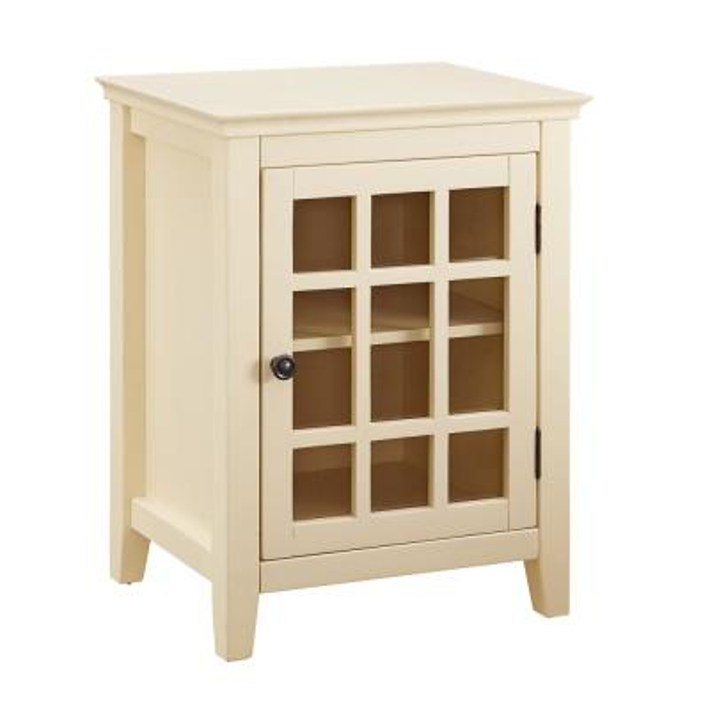 Payton Pale Yellow Single Door Cabinet