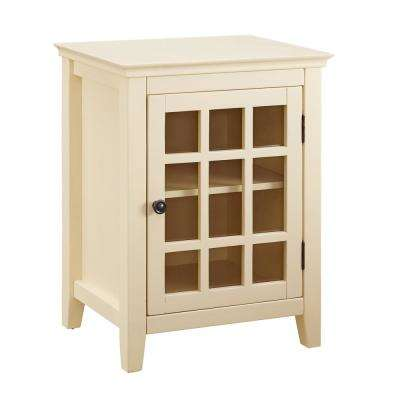 Payton Pale Yellow Single Door Cabinet