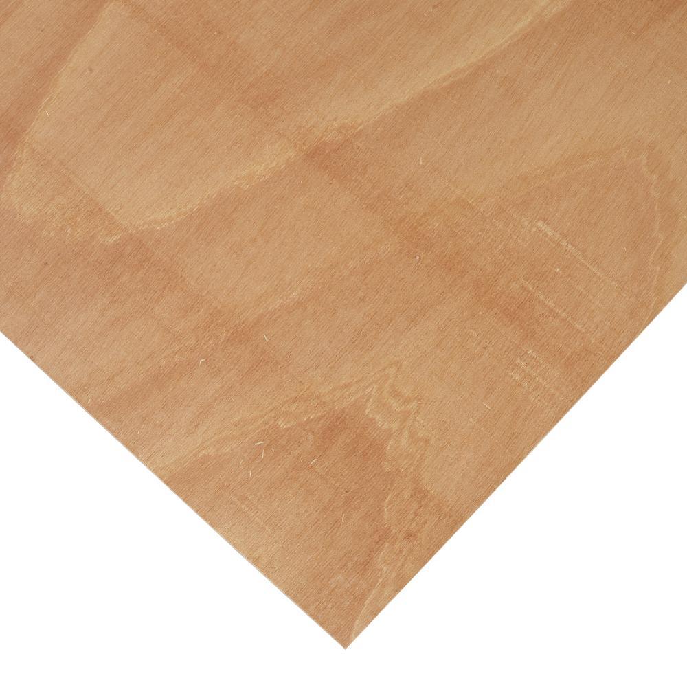 1/4 in. x 4 ft. x 4 ft. PureBond Radius Bending Plywood Project Panel