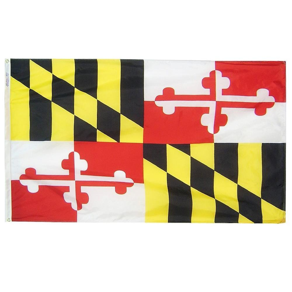 4 ft. x 6 ft. Maryland State Flag