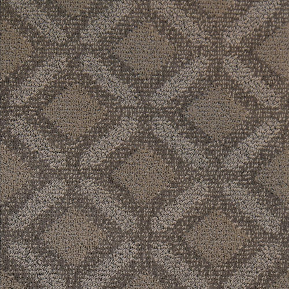 Fancy - Color Sand Dunes Pattern 12 ft. Carpet