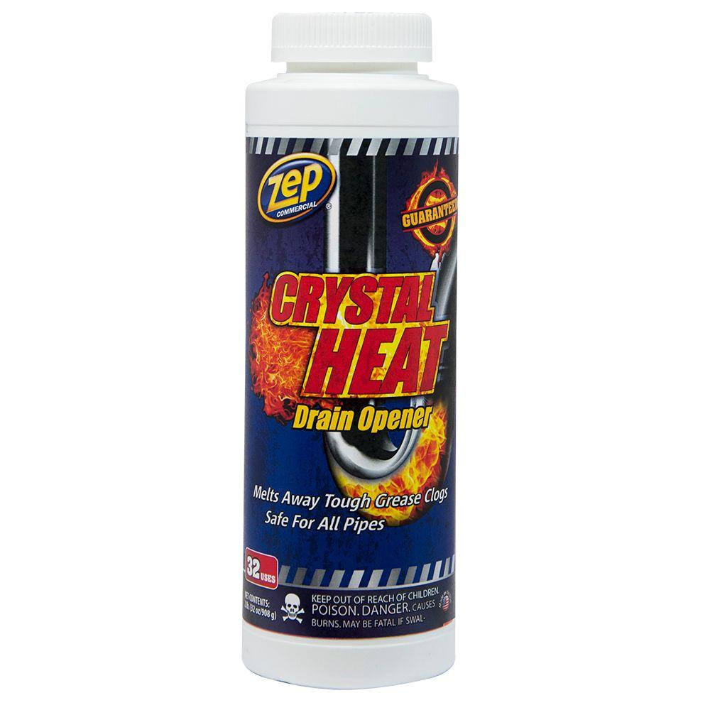 ZEP 32 oz. Crystal Heat Drain Opener (Case of 12)
