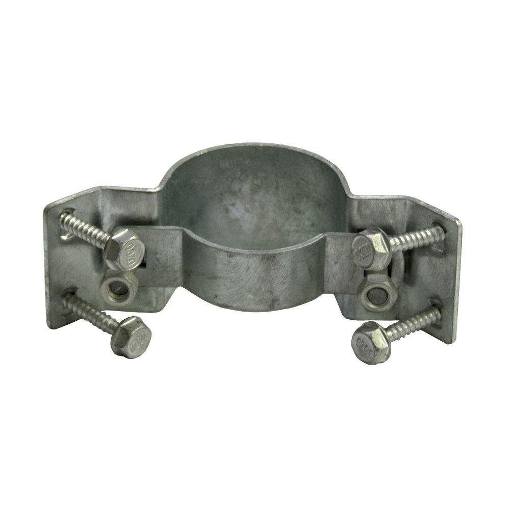 WAP-OZ 2-3/8 in. Galvanized Steel to Wood Fence Bracket with Inside