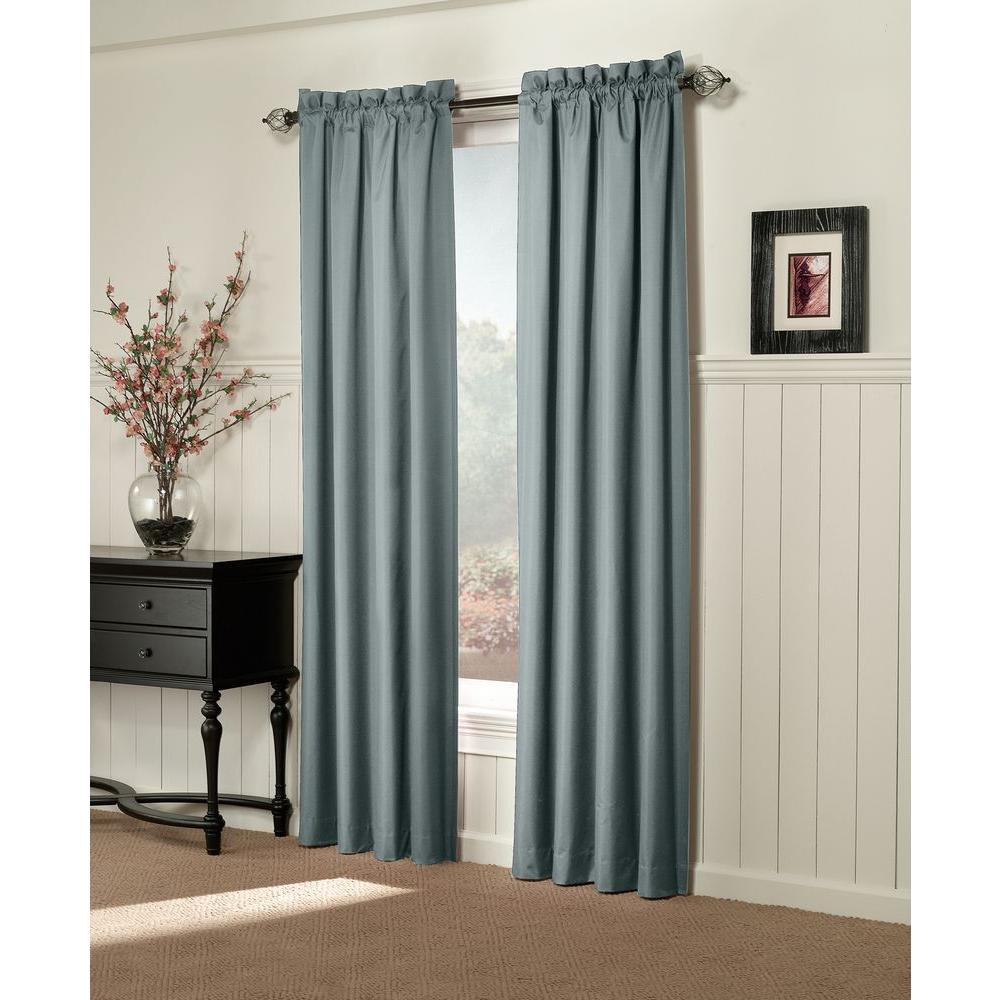 Sun Zero Semi-Opaque Brighton Mineral Thermal Lined Curtain Panel (Price Varies by Size)