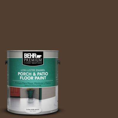1 gal. #SC-111 Wood Chip Low-Lustre Interior/Exterior Porch and Patio Floor Paint