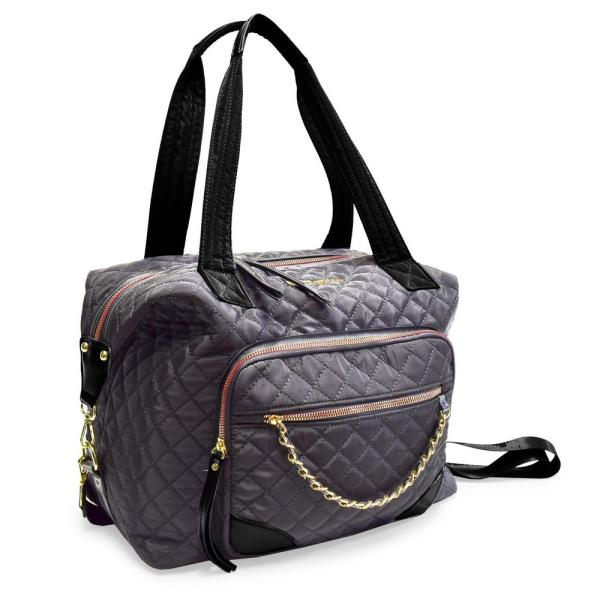 7f5cc104569b ADRIENNE VITTADINI The Diamond Quilted Collection 7 in. Gray ...