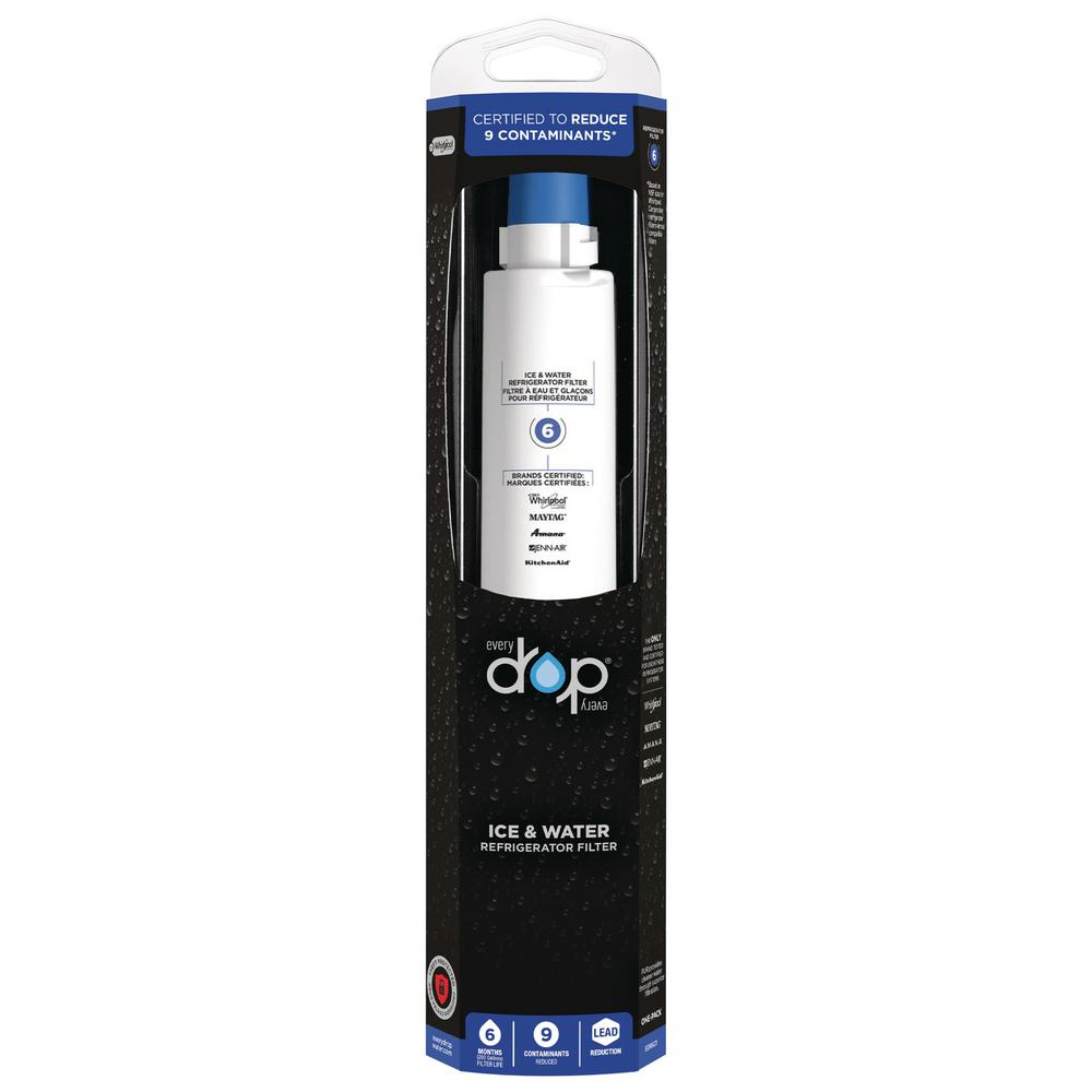 EveryDrop Ice and Refrigerator Water Filter 6-EDR6D1 - The ...