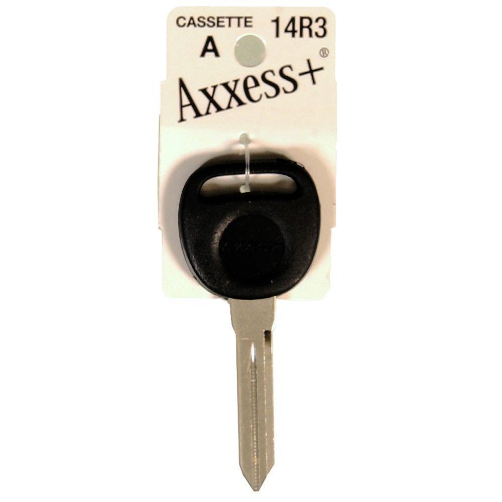 #14R3 Blank General Motors Rubber-Head Key