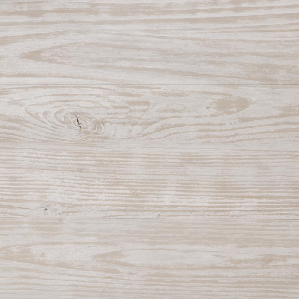 Home Decorators Collection Whitewashed Oak 7.5 in. x 47.6 in. Luxury Vinyl  Plank Flooring