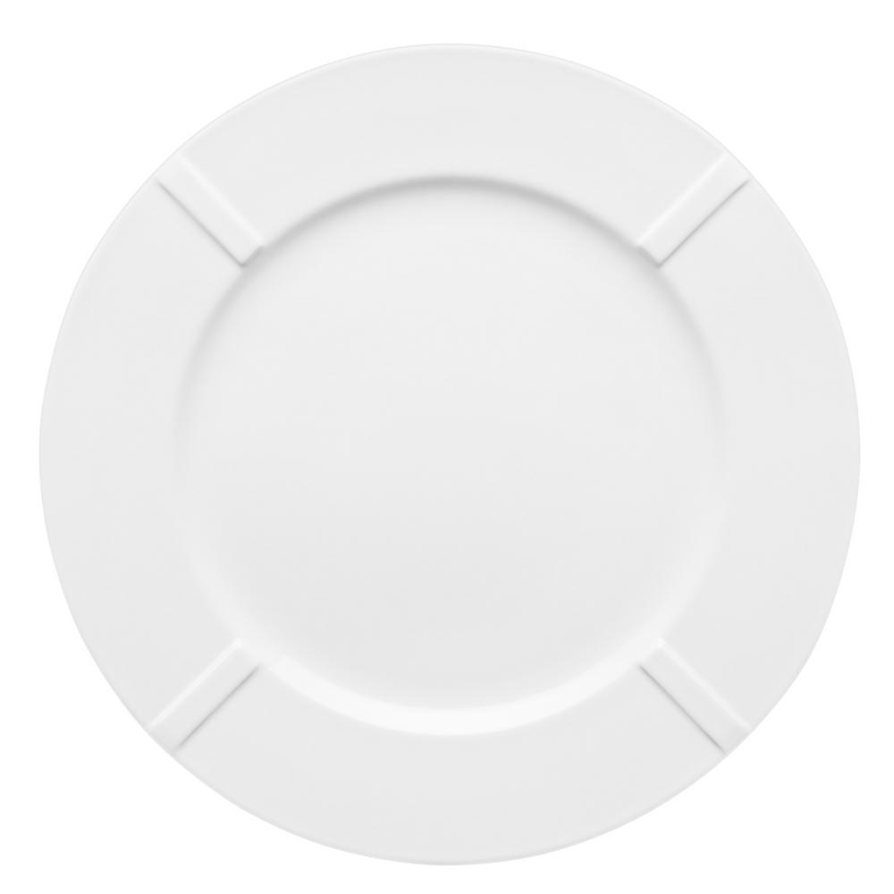 Bruk B1 White China Plate (Set of 4)