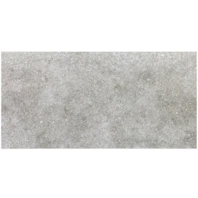 Essential Chalk Ash 12 in. x 24 in. Matte Porcelain Floor and Wall Tile (15.49 sq. ft. / case)