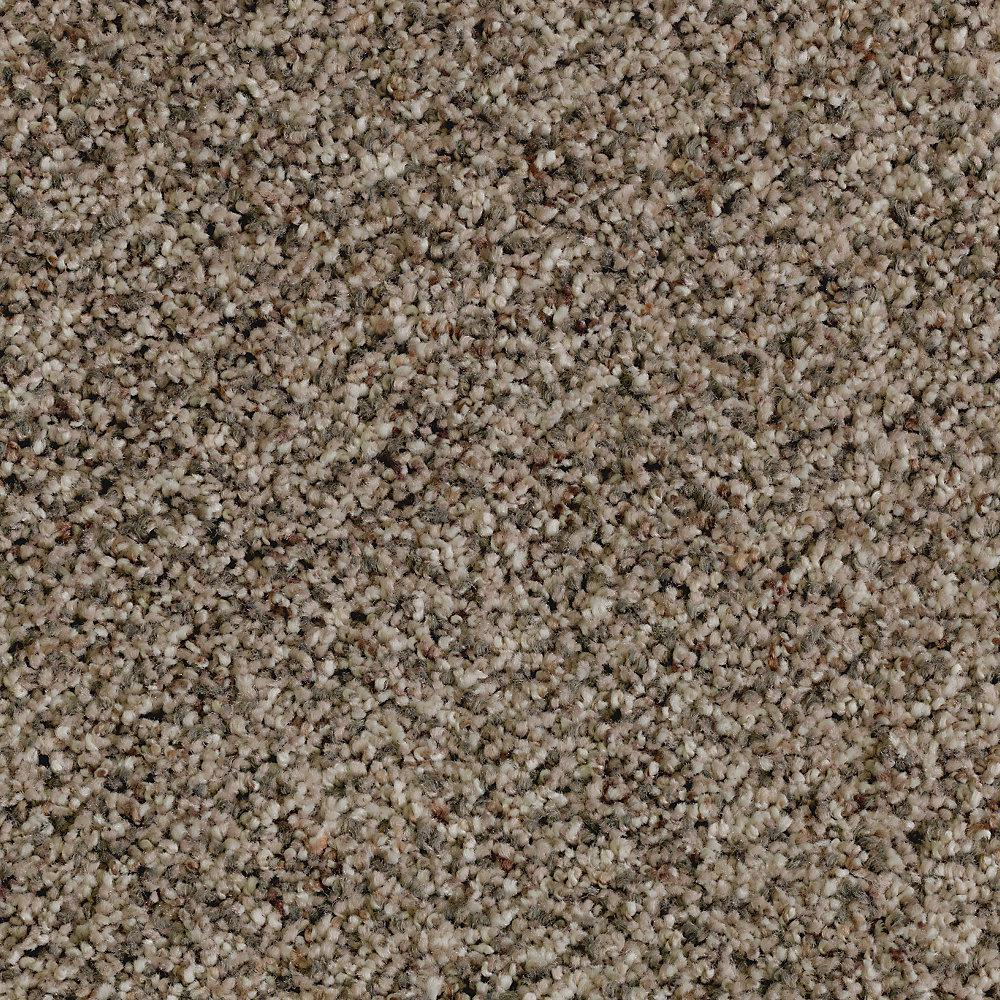 LifeProof Briarmoor II - Color Georgian Silver Texture 12 ft. Carpet