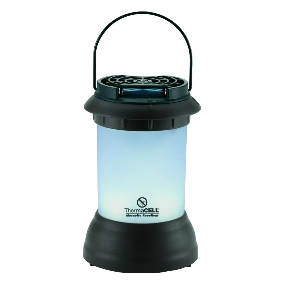 ThermaCELL Mosquito Repellent Pest Control Outdoor And Camping Cordless  Dark Bronze Lantern