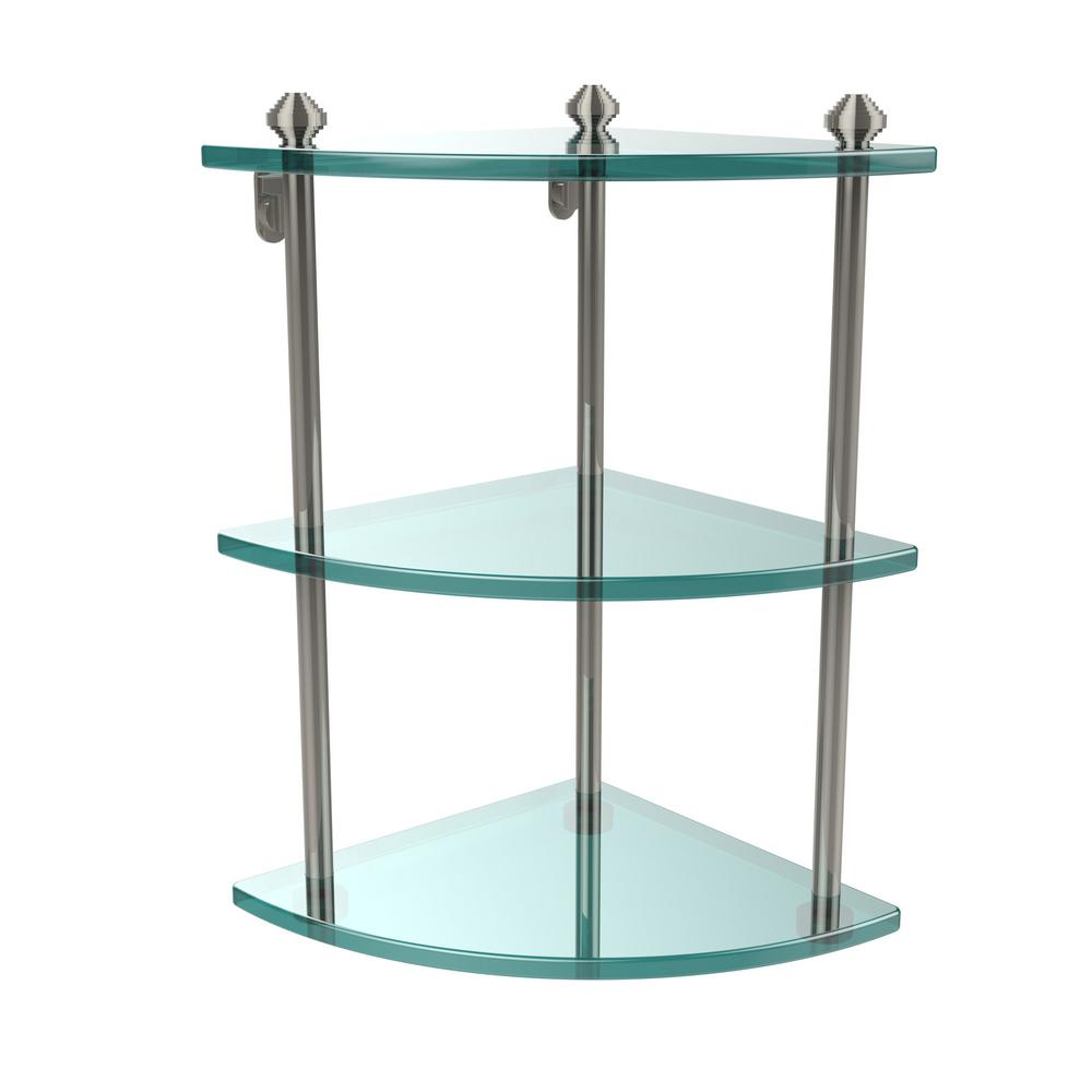 Allied Br Southbeach Collection 8 In 3 Tier Corner Gl