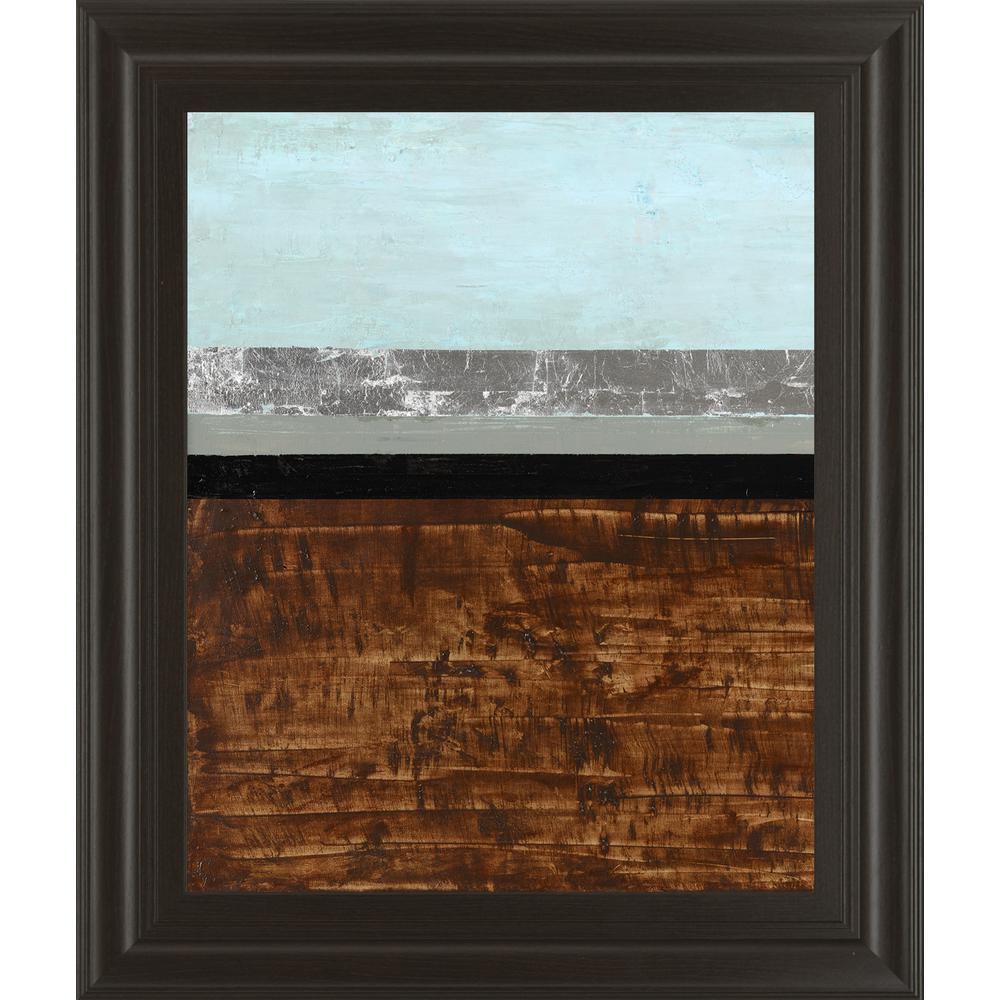 "22 in. x 26 in. ""Textured Light I"" by Natalie Avondet Framed Printed Wall Art"
