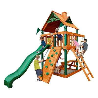 Chateau Tower with Timber Shield Cedar Swing Set