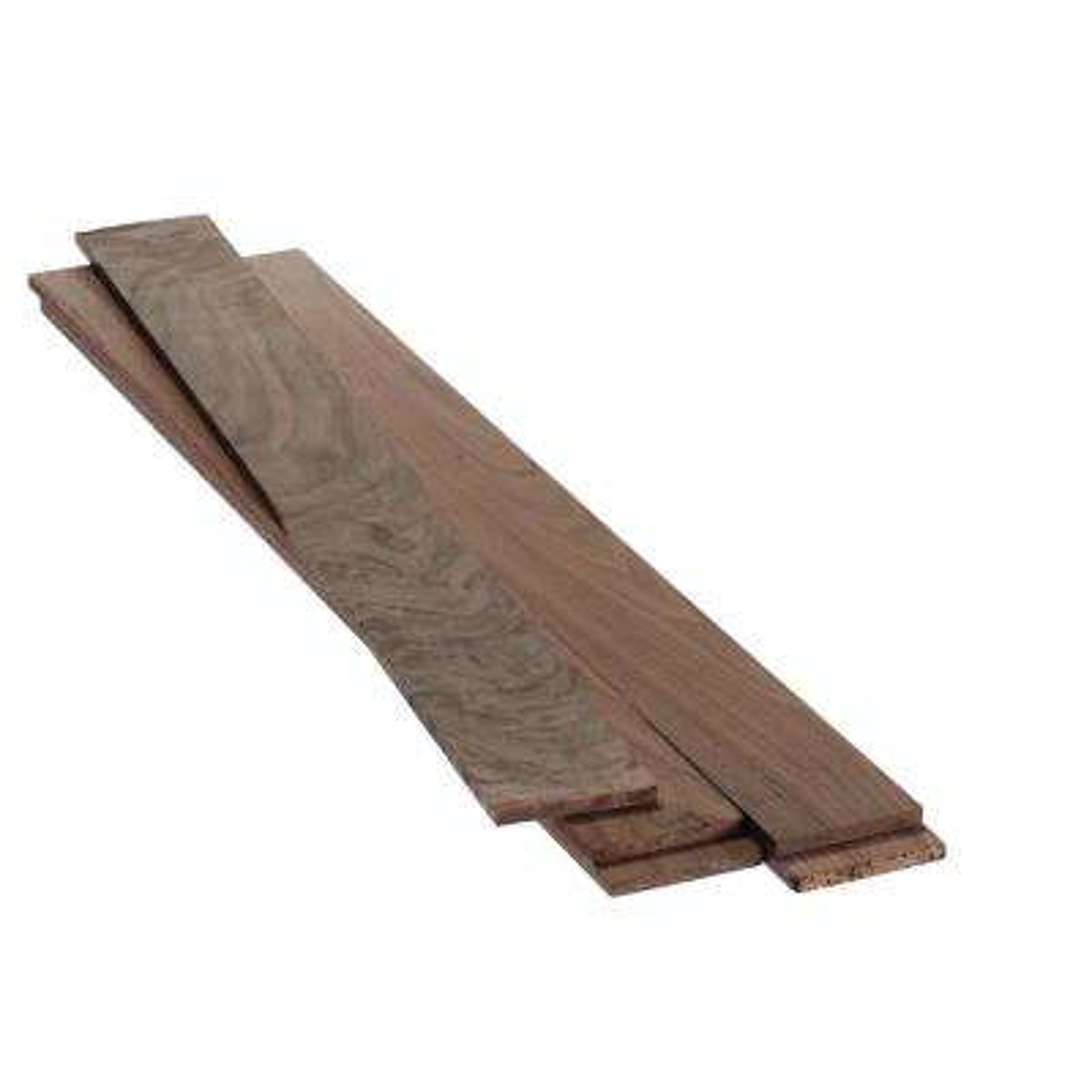 0.25 in. x 2.5 in. x 4 ft. Walnut Hobby Board (5-Pack)