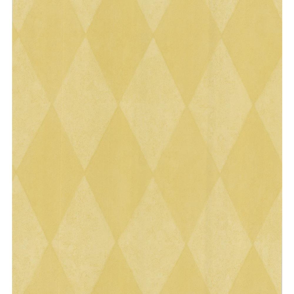 Brewster Simple Space Mustard Harlequin Wallpaper Sample