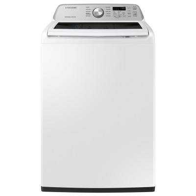 27 in. 4.5 cu. ft. High-Efficiency White Top Load Washing Machine with Active Water Jet