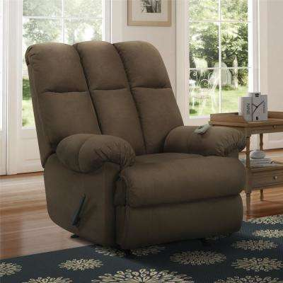 Good Padded Chocolate Massage Chair Recliner