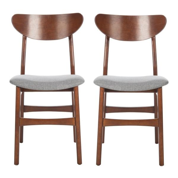 Lucca Walnut/Gray Dining Chair