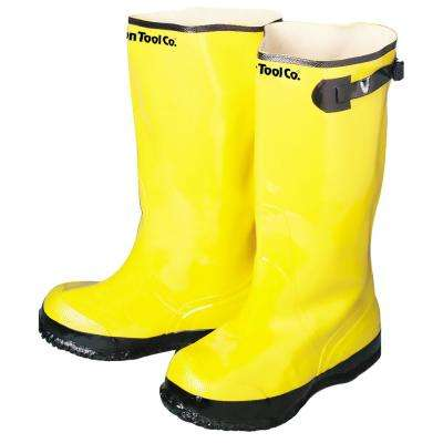 Contractor's Size 13 Yellow Overshoe Boots