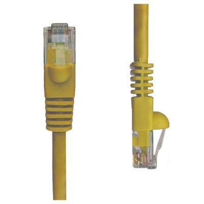 25 ft. Cat5e Snagless Unshielded (UTP) Network Patch Cable, Yellow