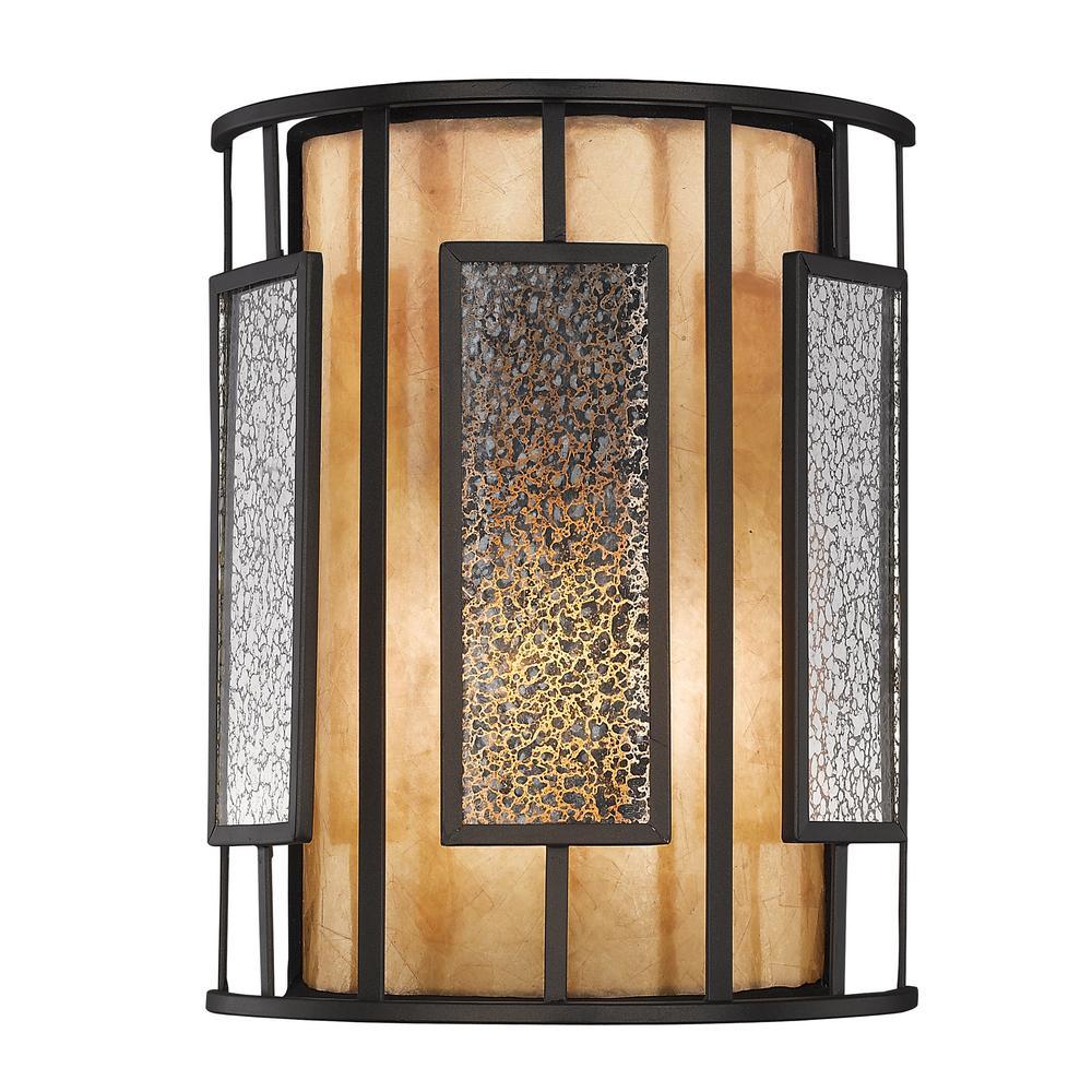 Filament Design Moore 1-Light Bronze Wall Sconce