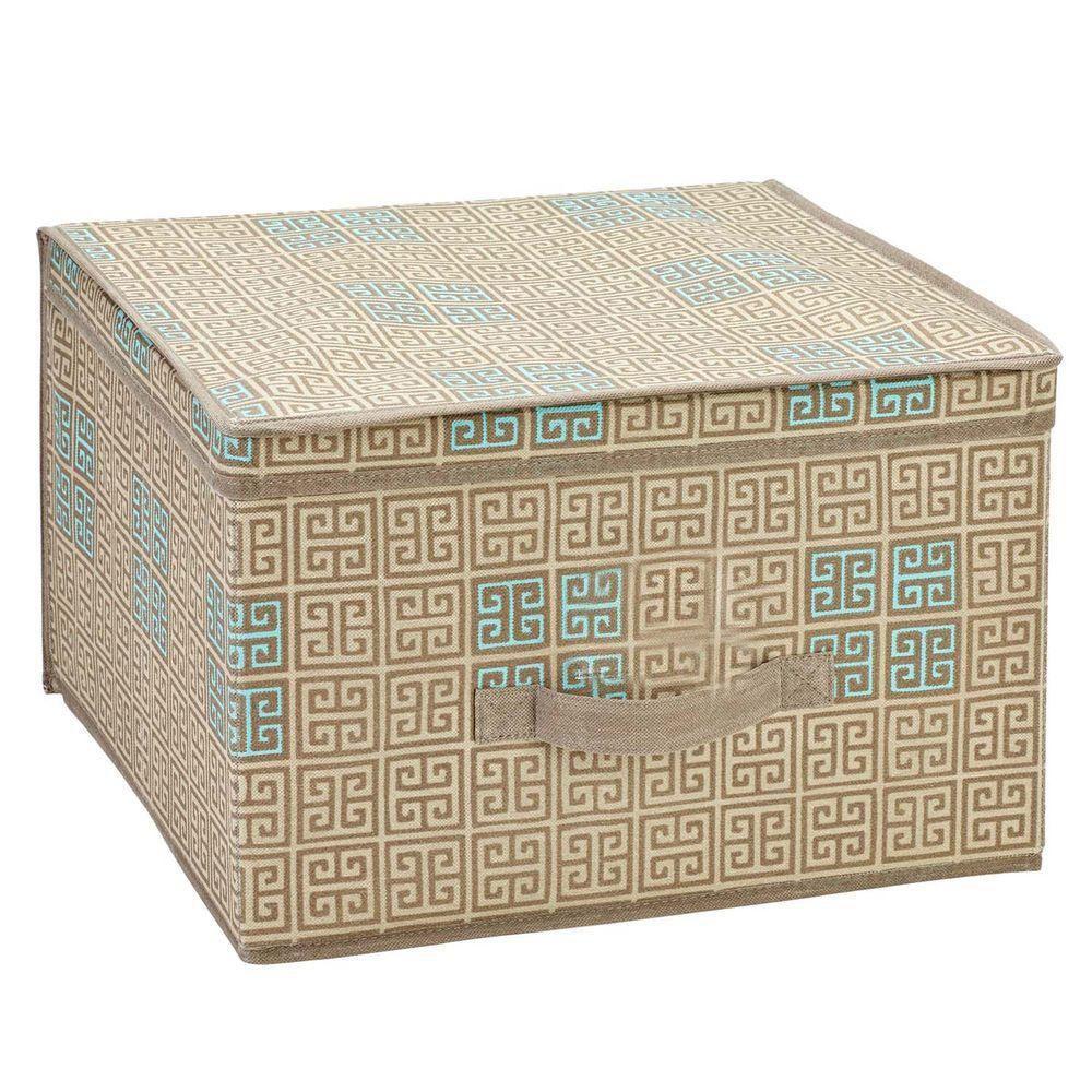 Jumbo Polypropylene Storage Box in Cameo Key Taupe