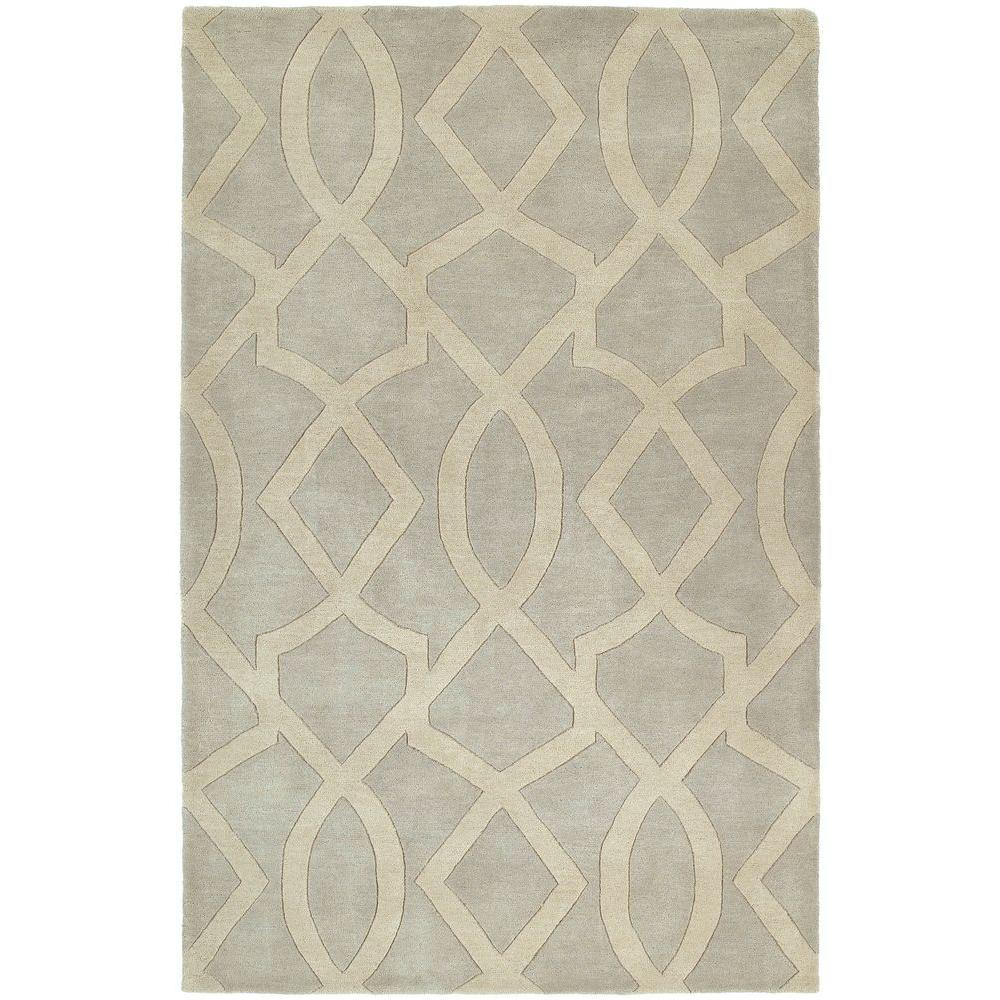 Kaleen Astronomy Galileo Graphite 7 ft. 6 in. x 9 ft. Area Rug