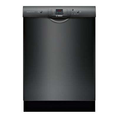 100 Series Front Control Tall Tub Dishwasher in Black with Hybrid Stainless Steel Tub and Utility Rack, 50dBA