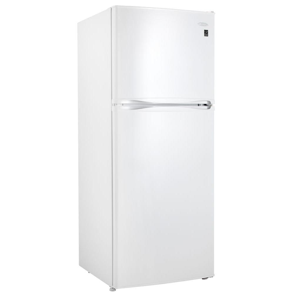 Danby 10 cu. ft. Top Mount Refrigerator in White