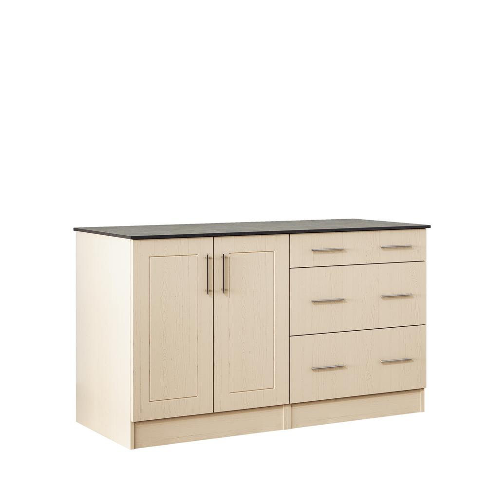 WeatherStrong Palm Beach 59.5 In. Outdoor Cabinets With