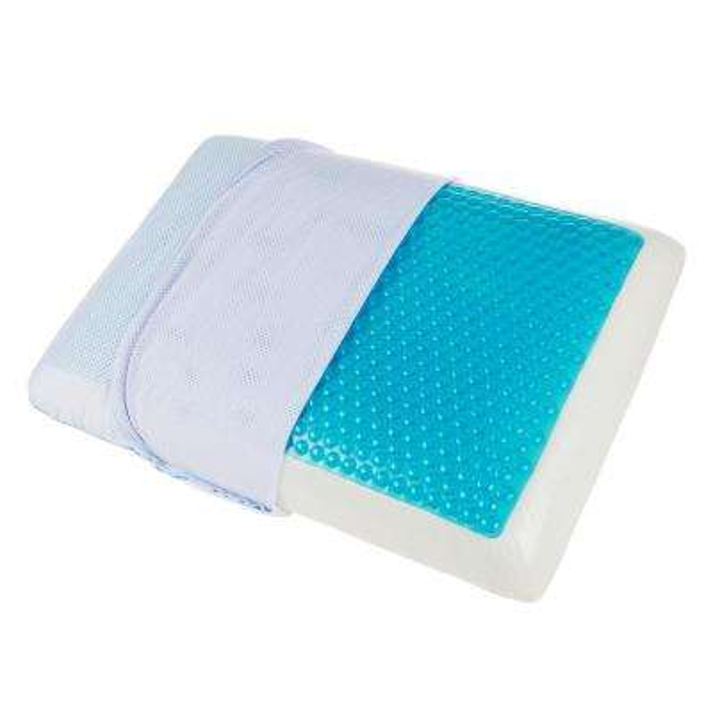 Gel Insert Memory Foam Standard Pillow